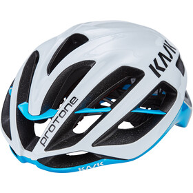 Kask Protone Cykelhjelm, white/light blue
